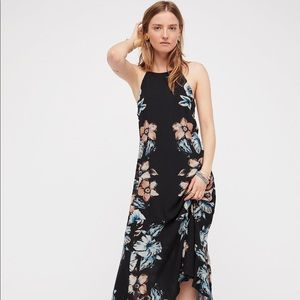 Free people back to you midi dress